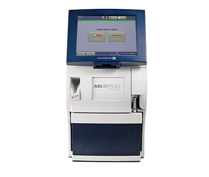 abl90 blood gas analyzer